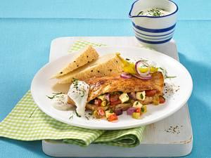 Griechisches Feta-Schnitzel Rezept