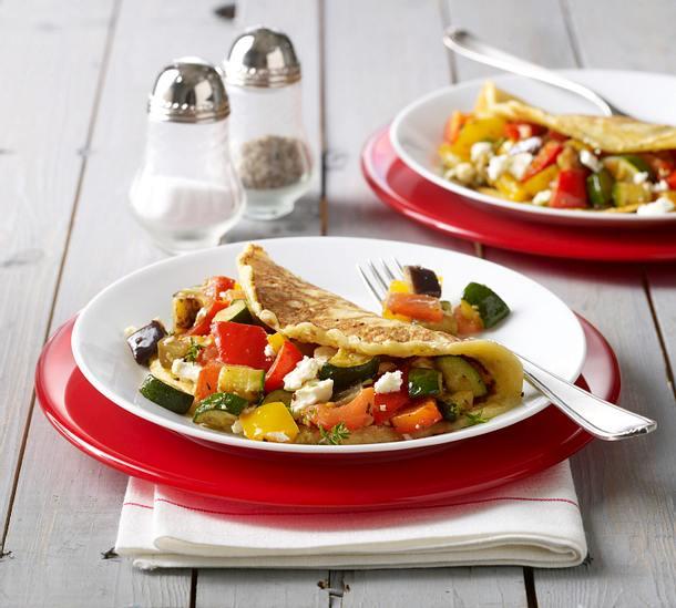 Griechisches Pfannkuchen-Omelett Rezept