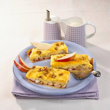 Grieß-Birnenkuchen Rezept
