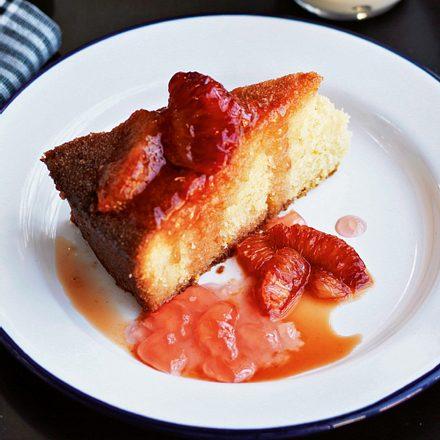 Grießkuchen mit Aperol-Orangen Rezept