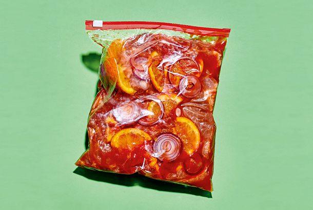 Zum (R)einlegen Grill-Marinade: Tomatoe-Orange Rezept
