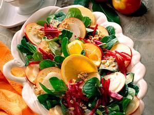 Große Salatplatte Rezept