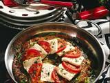 Großer Kartoffelrösti mit Tomate und Schafskäse Rezept