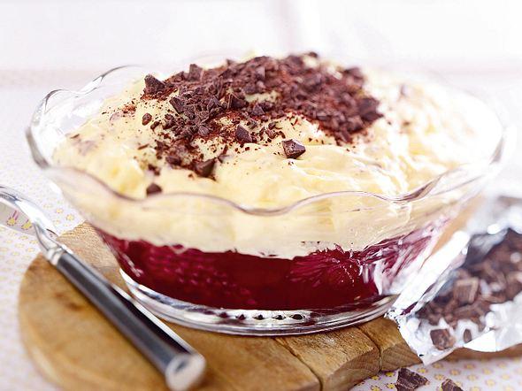 Großer Pudding-Kirsch-Traum Rezept