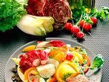 Großer Salatteller mit Filetsteak Rezept