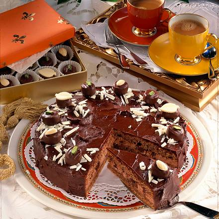 Großherzogin Luisen-Torte (Pralinen-Torte) Rezept