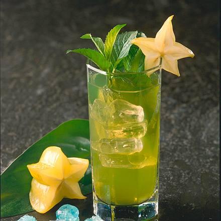 Grüne Banane mit Apfel Rezept