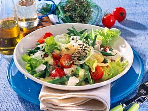 Grüne Bohnen-Tomatensalat Rezept