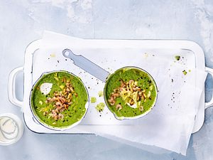 Grüne Gazpacho mit Karacho Rezept