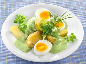 Grüne Kräutersoße Rezept