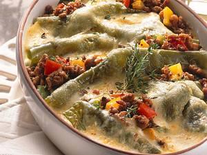 Grüne Lasagne Rezept