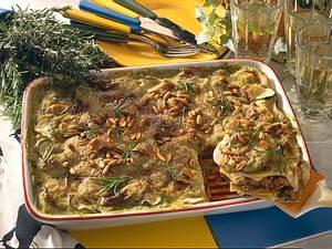 Grüne Lasagne mit Lammhack Rezept