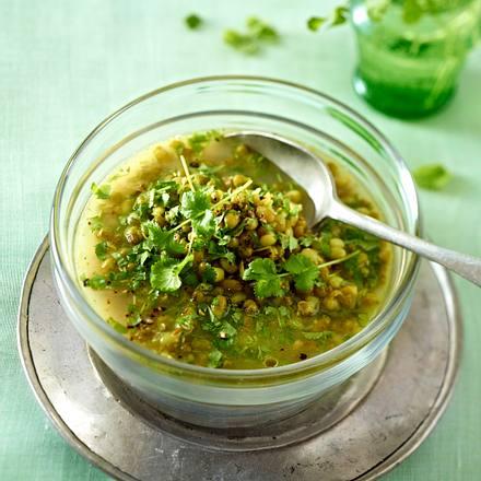 Grüne Mungobohnensuppe Rezept