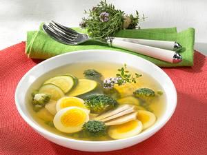 Grüne Tellersülze mit Huhn Rezept