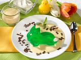 Grüne Wackelpeter-Häschen Rezept