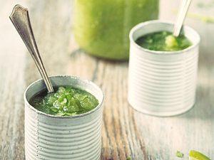 Grüner Gazpacho für den Mädchenabend Rezept
