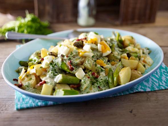 Grüner Kartoffel-Spargelsalat Rezept