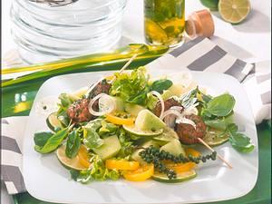 Grüner Sommersalat Rezept