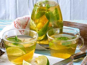 Grüner-Tee-Bowle Rezept