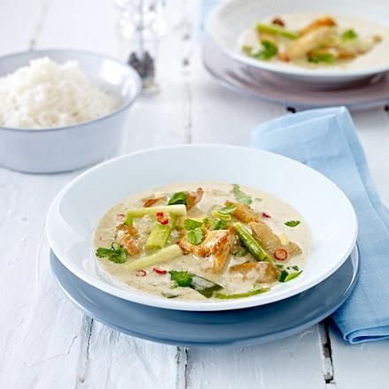 Grünes Hähnchen-Curry Rezept