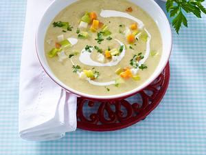 Grünkern-Gemüse-Suppe (Single) Rezept