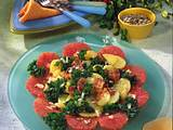 Grünkohl-Grapefruit-Salat Rezept