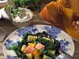 Grünkohl mit Kartoffeln, Kürbis und Speck Rezept