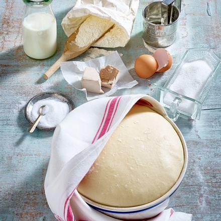 Grundteig für selbgemachtes Brot Rezept