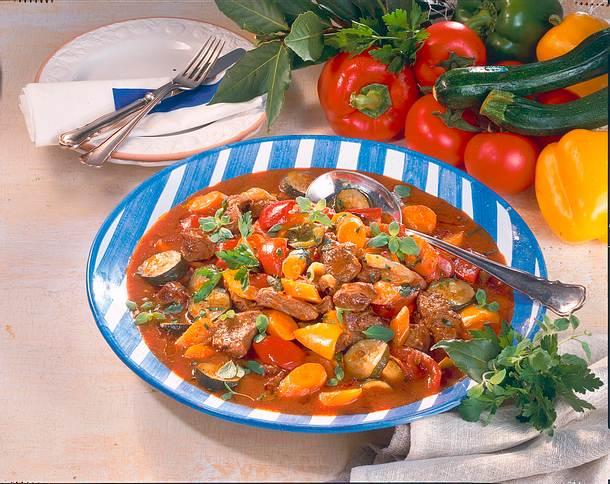 Gemüse Zum Gulasch