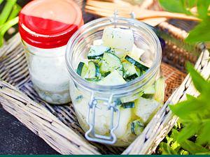 Gurken-Honigmelonen-Salat Rezept