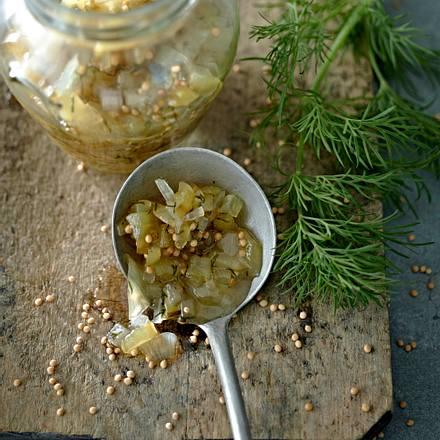 Gurken-Relish Rezept