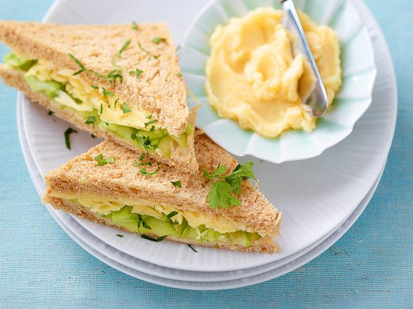 Gurken-Sandwiches Rezept