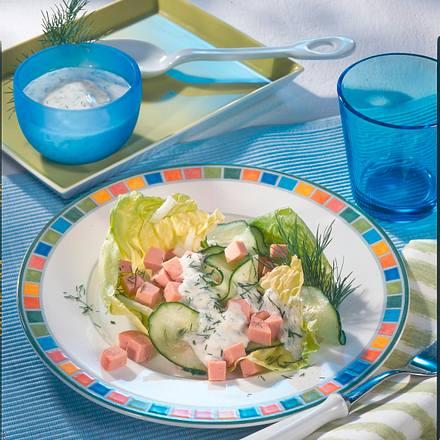 Gurken-Wurst-Salat Rezept