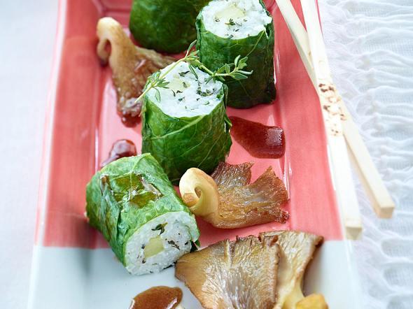 Gurken-Ziegenkäse-Maki Rezept