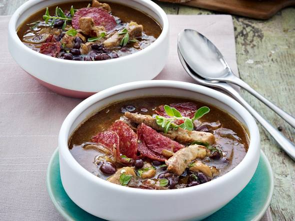 Gyros-Suppe Rezept