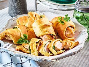 Hähnchen-Croissants rezept