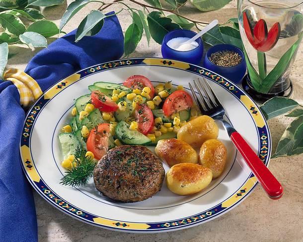 Hack-Diät mit Salat Rezept