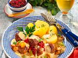 Hackbällchen in Champignon-Porree-Rahmsoße Rezept