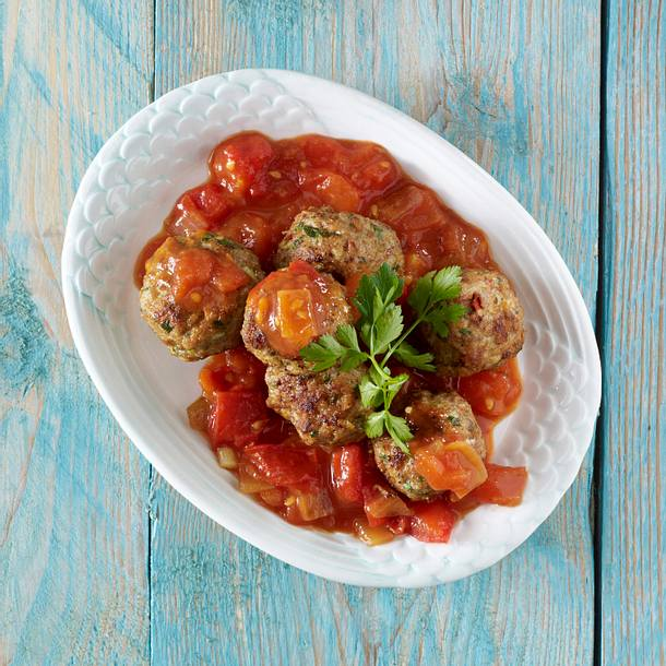 Hackbällchen in Sherry-Tomatensoße Rezept