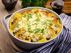 Hackbällchen-Kartoffel-Tarte-Rezept