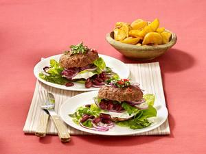 Hackburger Western Style Rezept