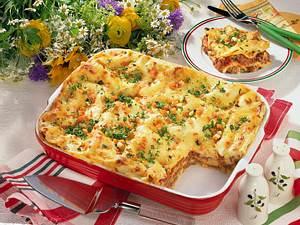 Hackfleisch-Lasagne mit Käsekruste Rezept