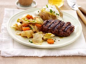Hacksteaks mit Country-Kohl Rezept