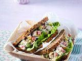 Hähnchen-Avocado-Brot Rezept
