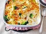 Hähnchen-Brokkoli-Auflauf mit Reis und Cornflakes-Kruste Rezept