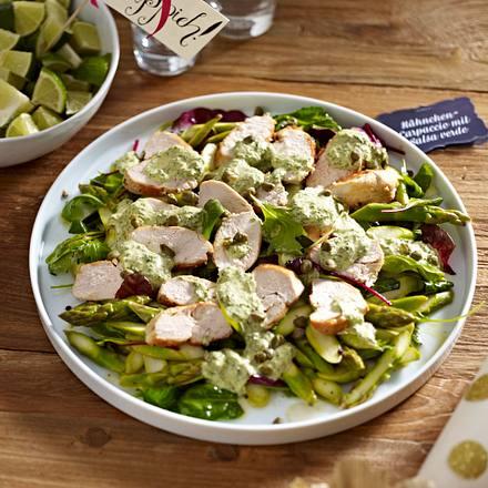 Hähnchen-Carpaccio mit Salsa verde Rezept