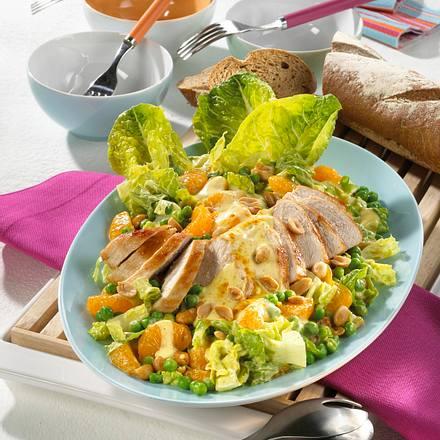 Hähnchen-Curry-Salat Rezept