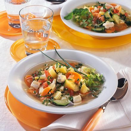 Hähnchen-Gemüse-Eintopf Rezept