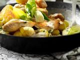 Hähnchen-Gnocchipfanne Rezept