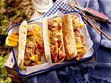 Hähnchen-Hot dogs Rezept